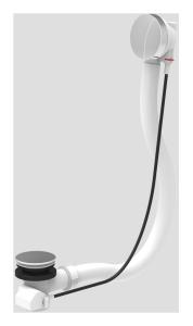 SANIT Ab-u.Überlaufgarnitur BASIC flexibel ohne Geruchsverschluss