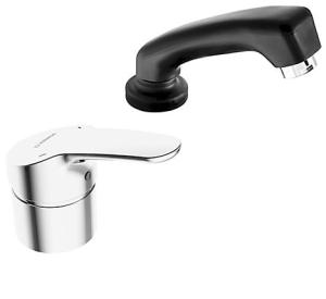 HANSAMIX  Einhand-Einlochbatterie, DN 15  für Friseur-Waschtische