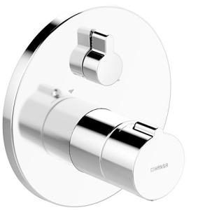HANSAHOME  Fertigmontageset mit Funktionseinheit  Wannen-Thermostat-Batterie, DN 15 (G 1/2)