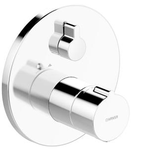 HANSAHOME  Fertigmontageset mit Funktionseinheit  Brause-Thermostat-Batterie, DN 15 (G 1/2)