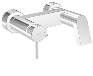 HANSASTELA  Einhand-Wannen-Batterie, DN 15 (G 1/2)  für Wandaufbau  mit Schwallauslauf