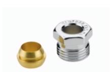 Danfoss Klemmringsatz für Stahl- und Kupferrohre (Dimension: 10mm)