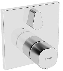 HANSALIVING  Fertigmontageset mit Funktionseinheit  Wannen-Thermostat-Batterie, DN 15 (G 1/2)