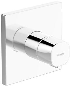 HANSALIVING  Fertigmontageset mit Funktionseinheit  Thermostat-Batterie, DN 15 (G1/2)
