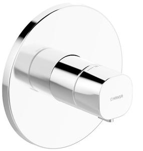 HANSALIVING  Fertigmontageset mit Funktionseinheit  Thermostat-Batterie, DN 15 (G1/2) rund