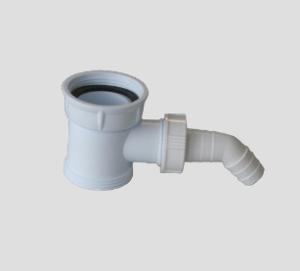 SANIT Verbindungsstück G1 1/2xG1 1/2 mit Geräteanschluss