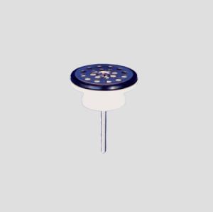 SANIT Universal-Ablaufventil 1 1/4 55 x 24 mit Siebplatte