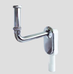 SANIT Wandeinbau-Geruchverschluss für Waschtisch, 1 1/4 x 40/50 mm