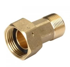 Deltamess Wasserzähler-Verschraubung (Variante: 1/2AG x 3/4 Überwurf)