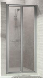 Hüppe Alpha 2 4-Eck Pendeltür Kunstglas