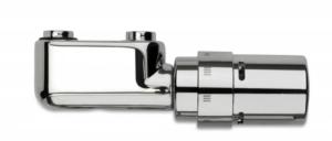 Vasco Design -Ventilgarnitur für Mittelanschluß mit Thermostatkopf