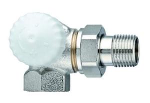 Heimeier Thermostatventil-Unterteil V-exact II Winkeleck/links 1/2