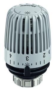 Heimeier Thermostat-Kopf Typ K RAL 7035 lichtgrau Standard