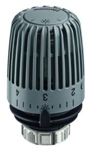 Heimeier Thermostat-Kopf Typ K RAL 7037 staubgrau Standard
