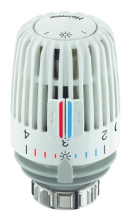 Heimeier Thermostat-Kopf Typ K weiß Standard mit Nullstellung