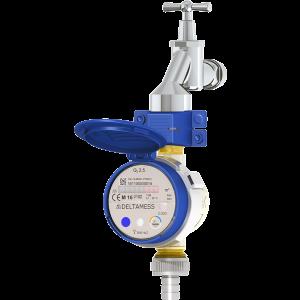 Deltamess Zapfhahnzähler TKS ZH smart M Q3 2,5 (Variante: Kaltwasser)