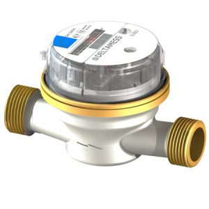Deltamess DELTA AP smart M G½ AG x 110 mm Aufputz-Wasserzähler (Variante: Kaltwasser)