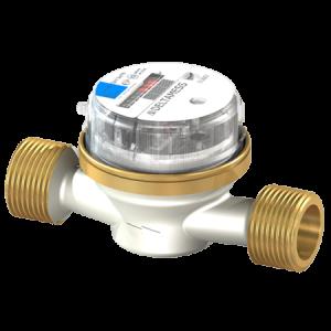 Deltamess DELTA AP smart M G¾ AG x 130 mm Aufputz-Wasserzähler (Variante: Kaltwasser)