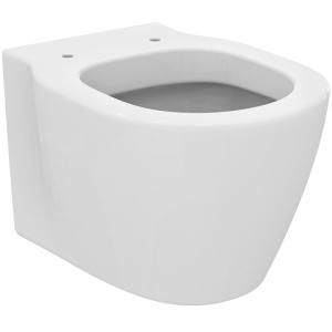 IS Wandtiefspül-WC kompakt CONNECT Space unsichtbare Befestigung (Beschichtung: ohne)