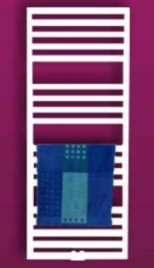 MERT Melike Design-Badheizkörper weiß (Varianten in mm: RAL 9016 Verkehrsweiß Breite:600 Höhe:1530)