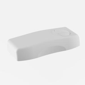 SANIT Deckel mit Tasten Spülkasten 961/2V weiß