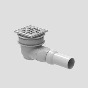 SANIT Duschablauf 823/BW verschraubbar für Duschboard