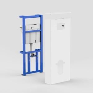 SANIT Sanitärmodul INEO SOLO Wand-WC weiß