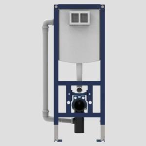 SANIT WC-Element INEO PLUS 450 mit Rohrbelüfter