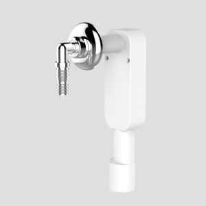 Sanit Wandeinbaugeruchverschluss für Wasch-oder Geschirrspülmaschine
