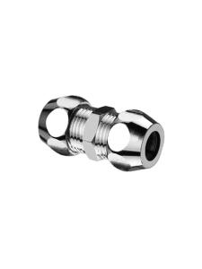 SCHELL Gerade-Doppel-Verschraubung 3/8x3/8 d:10mm chrom