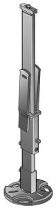 Standfix PLUS Standkonsole für Heizkörper SSPK-N