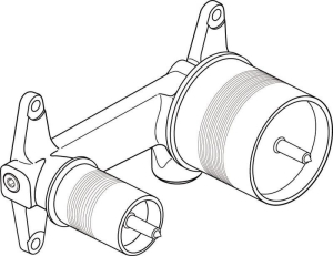 Ideal Standard Unterputz-Bausatz 1 für Einhebel-Wand-Waschtischarmatur