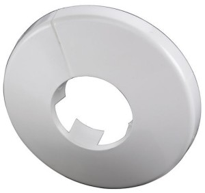 SIMPLEX Wandrosette 15mm Kunststoff weiß