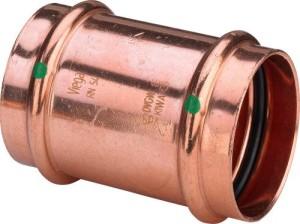 Kupfer Press Schiebemuffe (Größe: 15mm)