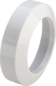 Viega WC Anschluss Schieberosette 3819 110mm weiß