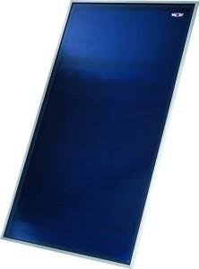 Wolf Hochleistungs-Sonnenkollektor TopSon F3-1 hochkant (Glashalteleiste: silber)