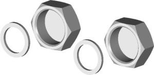 Wolf Verschlusskappen-Set für Speicheranschluss