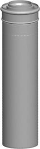 Wolf Luft-/Abgasrohr, weiß, steckbbar (Variante: DN60/100 bis 24kW Länge:500mm)
