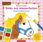 Meine ersten Bilder mit Wasserfarben - Zauberhafte Ponys