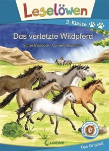 Leselöwen 2. Klasse - Das verletzte Wildpferd