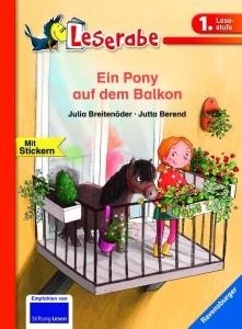 Leserabe - Ein Pony auf dem Balkon