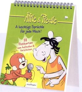 Äffle & Pferdle - A luschtigs Sprüchle für jede Woch!