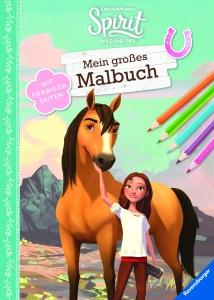 Spirit Wild und Frei: Mein großes Malbuch