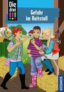 Die drei !!!, Bd. 13 -  Gefahr im Reitstall