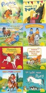 Pixi-8er-Set, Bd. 259: Ponygeschichten mit Pixi