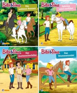 Mini-Bücher: Bibi & Tina Set 29-32