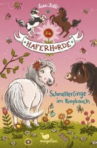 Die Haferhorde - Band 4: Schmetterlinge im Ponybauch