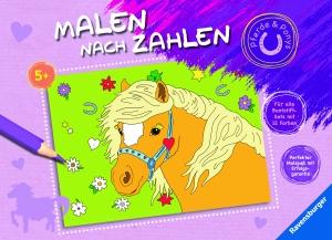 Malen nach Zahlen: Pferde & Ponys