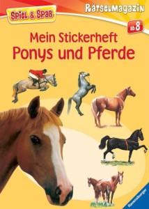 Mein Stickerheft Ponys und Pferde