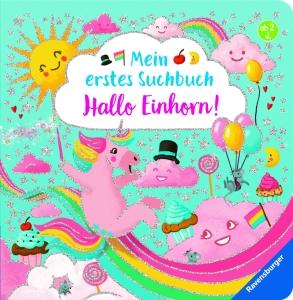 Mein erstes Suchbuch - Hallo Einhorn!